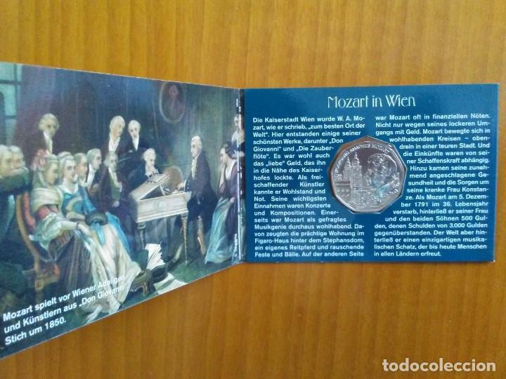 Euros: 2 X 5 EUROS -AUSTRIA 2006- ESTUCHES OFICIALES - MOZART - Foto 4 - 46941026