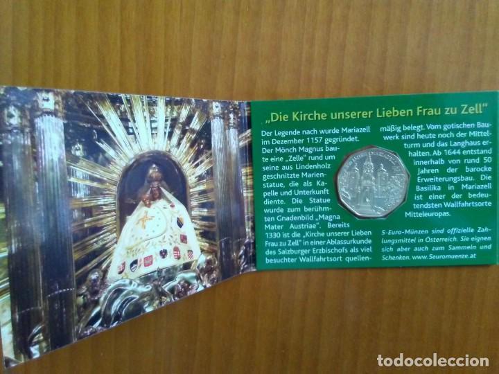 Euros: 2 X 5 EUROS -AUSTRIA 2007- ESTUCHES OFICIALES - MARIAZELL - Foto 4 - 46941065