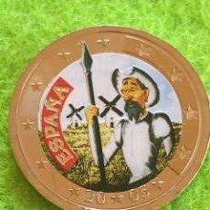 Euros: MONEDA DE 2€ DE QUIJOTE EN COLOR... 2005. SIN CIRCULAR Y ENCAPSULADA. PRECIOSA Y MUY EXCLUSIVA. Lote 275538188