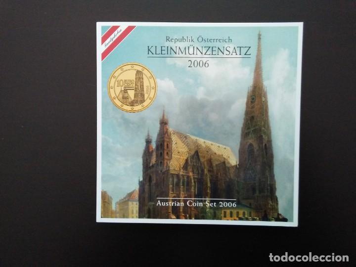 AUSTRIA 2006 -ESTUCHE OFICIAL- CATEDRAL DE ST. STEPHAN (Numismática - España Modernas y Contemporáneas - Ecus y Euros)