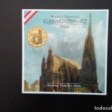 Euros: AUSTRIA 2006 -ESTUCHE OFICIAL- CATEDRAL DE ST. STEPHAN. Lote 23857709