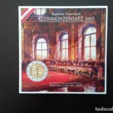 Euros: AUSTRIA 2005 -ESTUCHE OFICIAL- TRATATO DE LA UNION - INCLUYE CONMEMORATIVA. Lote 26463614
