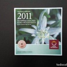 Euros: AUSTRIA 2011 -ESTUCHE OFICIAL- EDELWEISS. Lote 28090227