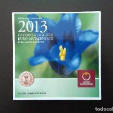 Euros: AUSTRIA 2013 -ESTUCHE OFICIAL- GENCIANA. Lote 36967625