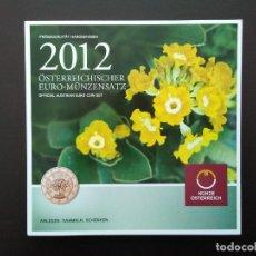 Euros: AUSTRIA 2012 -ESTUCHE OFICIAL- PRIMULA - INCLUYE CONMEMORATIVA TYE. Lote 48355928