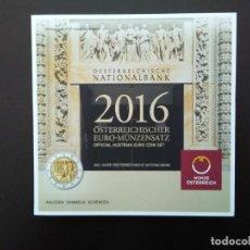 Euros: AUSTRIA 2016 -ESTUCHE OFICIAL- BICENTENARIO BANCO NACIONAL AUSTRIA - INCLUYE CONMEMORATIVA. Lote 92278505