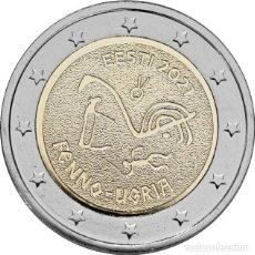 Euros: ESTONIA 2 EUROS 2021 PUEBLOS UGROFINESES. Lote 292332333