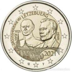 Euros: LUXEMBUROG 2 EUROS 2021 CENTENARIO DEL NACIMIENTO DEL GRAN DUQUE JEAN S/C. Lote 277030293