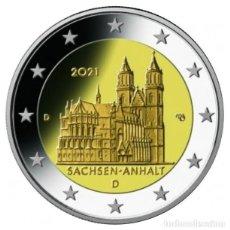 Euros: ALEMANIA 2 EUROS 2021 CATEDRAL DE MAGDEBURGO S/C. Lote 277034643