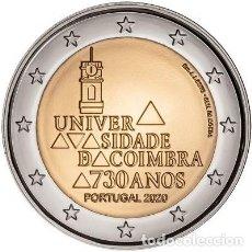 Euros: PORTUGAL 2 EUROS 2020 UNIVERDIDAD DE COIMBRA S/C. Lote 277035048