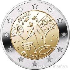 Euros: MALTA 2 EUROS 2020 NIÑOS Y LA SOLIDARIDAD S/C. Lote 277035383