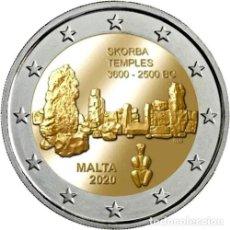 Euros: MALTA 2 EUROS 2020 TEMPLOS DE SKORBA S/C. Lote 277035698
