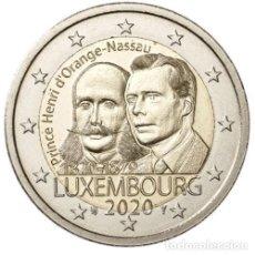 Euros: LUXEMBURGO 2 EUROS 2020 BICENTENARIO PRINCIPE HENRY S/C. Lote 277036603