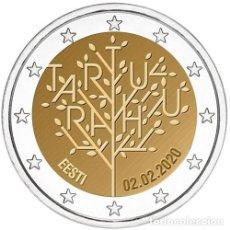 Euros: ESTONIA 2 EUROS 2020 TRATADO DE PAZ DE TARTU S/C. Lote 277037628
