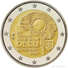 Euros: ESLOVAQUIA 2 EUROS 2020 OCDE S/C. Lote 277040798