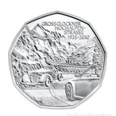 Euros: MONEDA 5 EUROS DE PLATA AUSTRIA 2010 - GROSSGLOCKNER - SIN CIRCULAR. Lote 277061013