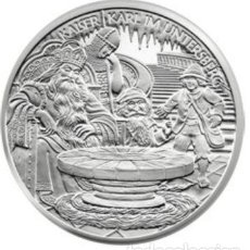Euros: MONEDA 10 EUROS DE PLATA AUSTRIA 2010 - CARLO MAGNO - SIN CIRCULAR. Lote 277061628