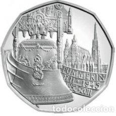 Euros: MONEDA 5 EUROS DE PLATA AUSTRIA 2011 - PUMMERIN - SACADA DE BLISTER ORIGINAL - SIN CIRCULAR. Lote 277110553