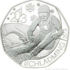 Euros: MONEDA 5 EUROS EN PLATA AUSTRIA 2012 - SCHLADMING - SIN CIRCULAR. Lote 277176718