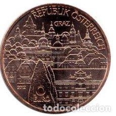 Euros: MONEDA 10 EUROS EN COBRE AUSTRIA 2012 - STYRIA - SIN CIRCULAR. Lote 277179153