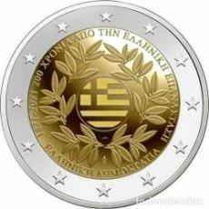 Euros: 2 EUROS GRECIA 2021 200 AÑOS REVOLUCIÓN. Lote 277194328