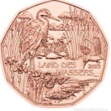 Euros: MONEDA 5 EUROS DE COBRE AUSTRIA 2013 - LAND DES WASSER - SIN CIRCULAR. Lote 277623338