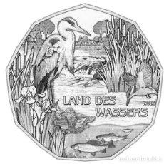 Euros: MONEDA 5 EUROS DE PLATA AUSTRIA 2013 - LAND DES WASSER - SIN CIRCULAR. Lote 277623718