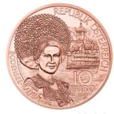 Euros: MONEDA 10 EUROS DE COBRE AUSTRIA 2013 - TIROL - SIN CIRCULAR. Lote 277625218