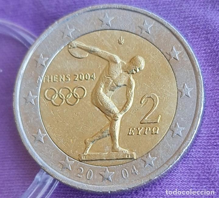 GRECIA 2004 2 € EUROS CONMEMORATIVOS BC JUEGOS OLÍMPICOS ATENAS (Numismática - España Modernas y Contemporáneas - Ecus y Euros)