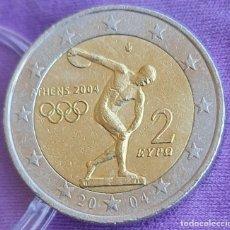 Euros: GRECIA 2004 2 € EUROS CONMEMORATIVOS BC JUEGOS OLÍMPICOS ATENAS. Lote 277703918