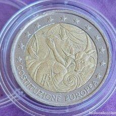 Euros: ITALIA 2005 2 € EUROS CONMEMORATIVOS BC PRIMER ANIVERSARIO FIRMA CONSTITUCIÓN EUROPEA. Lote 277705008