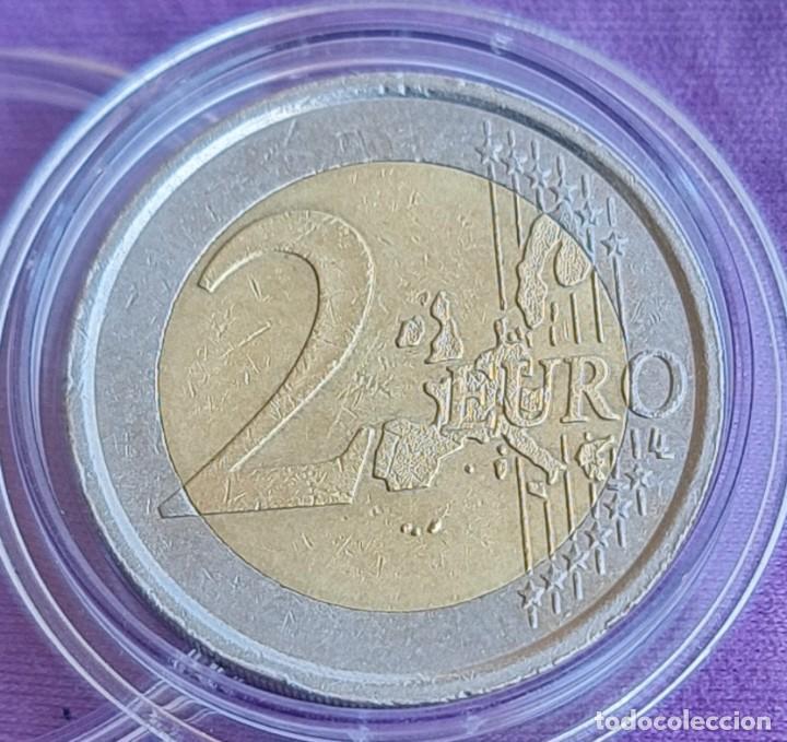 Euros: Italia 2005 2 € euros conmemorativos BC primer aniversario firma Constitución Europea - Foto 2 - 277705008