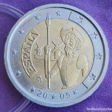 Euros: ESPAÑA 2005 2 € EUROS CONMEMORATIVOS BC QUIJOTE IV CENTENARIO. Lote 277713638