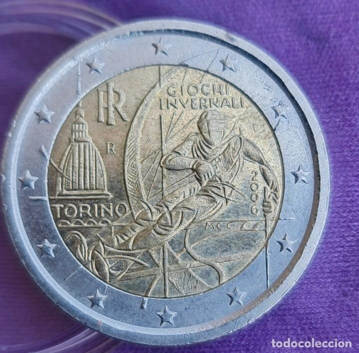 ITALIA 2006 2 € EUROS CONMEMORATIVOS BC TORINO JUEGOS OLÍMPICOS DE INVIERNO (Numismática - España Modernas y Contemporáneas - Ecus y Euros)