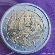 Euros: ITALIA 2006 2 € EUROS CONMEMORATIVOS BC TORINO JUEGOS OLÍMPICOS DE INVIERNO. Lote 277714643