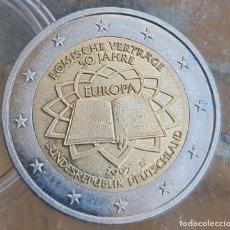 Euros: ALEMANIA 2007 2 € EUROS CONMEMORATIVOS BU CECA D TRATADO DE ROMA 50 ANUVERSARIO. Lote 278202583
