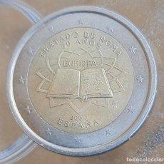 Euros: ESPAÑA 2007 2 € EUROS CONMEMORATIVOS TRATADO DE ROMA 50 ANUVERSARIO. Lote 278203188