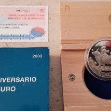 Euros: 2003 PRIMER ANIVERSÁRIO DEL EURO. 10 € PROOF. Lote 278496098