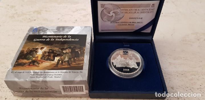 2008 BICENTENARIO DE LA GUERRA DE LA INDEPENDENCIA . 10 €. TIMBALER DEL BRUC (Numismática - España Modernas y Contemporáneas - Ecus y Euros)