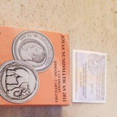 Euros: 2011 JOYAS NUMISMATICAS 1 1/2 SHEKEL. Lote 278497953