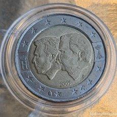 Euros: BÉLGICA 2005 2 € EUROS CONMEMORATIVOS BC UNIÓN ECONÓMICA BELGO-LUXEMBURGUESA. Lote 278539863