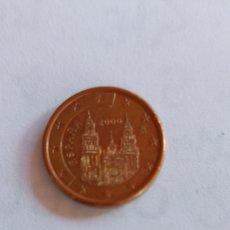 Euros: MONEDA ESPAÑA 1 CENTIMO EURO 2000. Lote 278568388