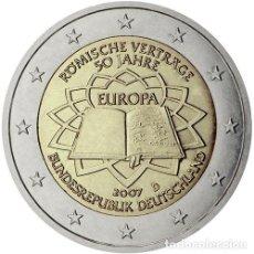 Euros: ALEMANIA 2 EUROS 2007 TRATADO DE ROMA S/C. Lote 278706263