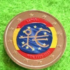 Euros: MONEDA DE 2 € EN COLOR . MONEDA SIN CIRCULAR. CONMEMORATIVA. 1999/2000. SE ENVÍA ENCAPSULADA.. Lote 286609843