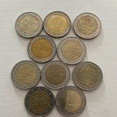 Euros: LOTE 10 MONEDAS DE 2€ CONMEMORATIVAS. Lote 288653578