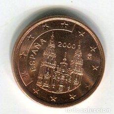 Euros: 5 (CINCO) CENTIMOS DE EURO ESPAÑA AÑO 2000 S/C. Lote 289518448