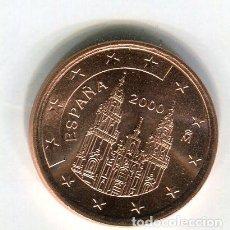 Euros: 5 (CINCO) CENTIMOS DE EURO ESPAÑA AÑO 2000 S/C. Lote 289518483