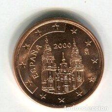 Euros: 5 (CINCO) CENTIMOS DE EURO ESPAÑA AÑO 2000 S/C. Lote 289518543