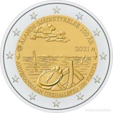 Euros: FINLANDIA 2 EUROS 2021 CENTENARIO DEL AUTOGOBIERNO DE LA REGIÓN DE ÅLAND. Lote 292332073