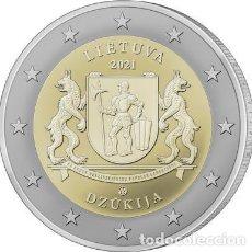 Euros: LITUANIA 2 EUROS 2021 REGION DZŪKIJA. Lote 292332148